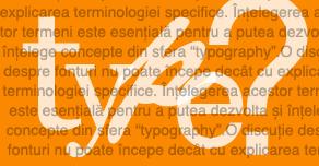 type, typeface și tipuri de fonturi